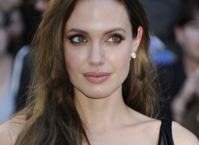 Angelina Jolie at a film festival in September
