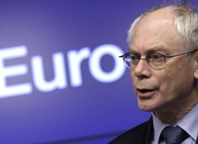 Herman van Rompuy is repor