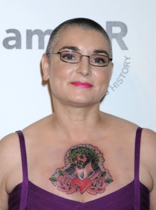 Sinéad O'Connor in Hollywood in late October.