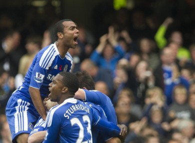 Ashley Cole: 2 for originality; 10 for timing