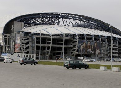 Poznan's Municipal Stadium, where Ireland will play two of their three group games.