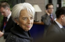 Lagarde: Europe's problems can't be solved by Europe alone