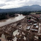 An aerial pictures shows the damge caused by devastating floods over Iligan in the southern island of Mindanao. (AFP PHOTO/POOL/RICHEL UMEL/PA Images)