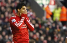 Suarez hit with 'improper conduct' ban for Fulham gesture