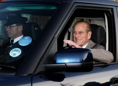 90-year-old Prince Philip leaving hospital today