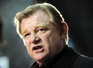 Brendan Gleeson is nominated for a Golden Globe for his performance in 'The Guard'.
