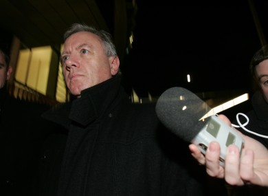 Eamon Lillis pictured outside court in 2010