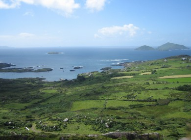 The Ring of Kerry, one of Ireland's largest attractions
