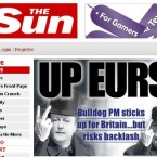 The Sun made its feelings clear...