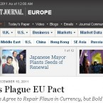 The Wall Street Journal took a negative view of the agreement