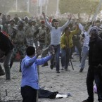 Amnesty International condemns the army's use of force against Tahrir Square protesters, saying that soldiers used the