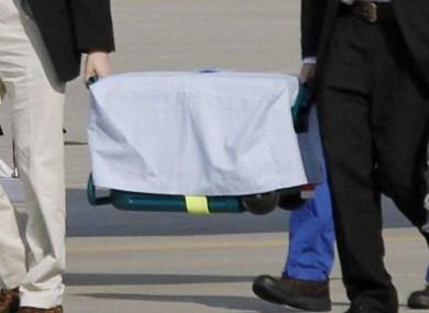 Careful now: A transplant box (File photo)