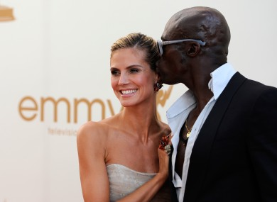 Heidi Klum and Seal arrive at the 63rd Primetime Emmy Awards on Sunday, Sept. 18, 2011 in Los Angeles.