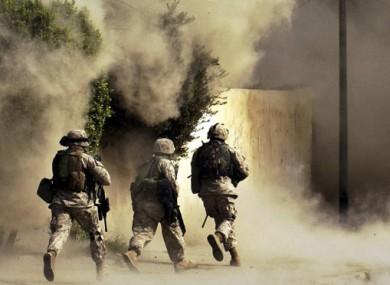 File photo of US Marines.