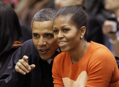 Michelle Obama: not a sideline reporter.