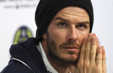 Forget Paris: David Beckham snubs PSG switch to stay in LA