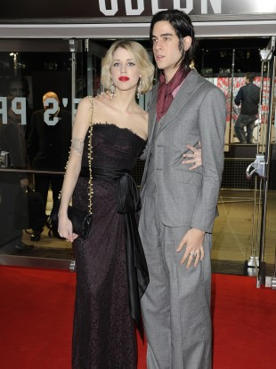 Peaches Geldof and fiancé Tom Cohen