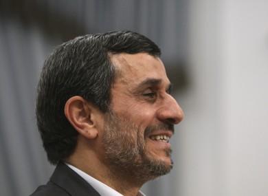 Iranian president Mahmoud Ahmadinejad: the new Iranian mis