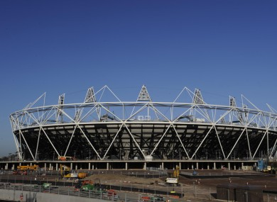 London's Olympic Stadium, one of the six main buildings in the Olympic Park which was compromised in a security trial over the weekend.