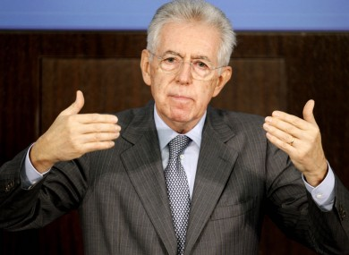 The Italian parliament of Mario Monti includes the highest earners of any parliament in the EU.