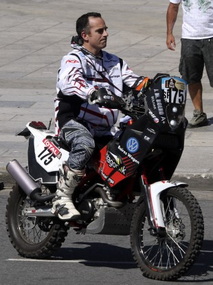 Boero was making his second appearance in the rally.