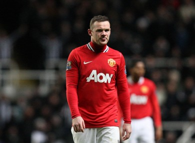 Rooney has been off form of late.