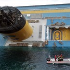 Italian prosecutors have confirmed they are investigating the captain for manslaughter charges and abandoning the ship. (AP Photo/Gregorio Borgia/PA Images)