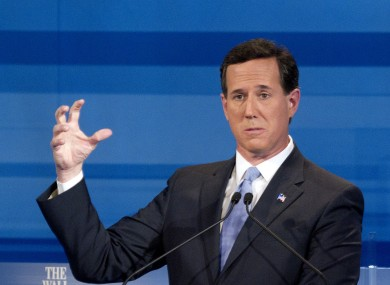 There could be good news yet for Rick Santorum in the race for the White House