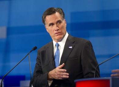 Frontrunner Mitt Romney