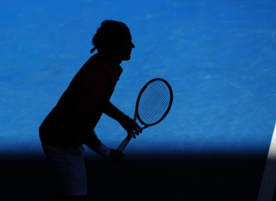 Roger Federer, who will now play either Rafael Nadal or Tomas Berdych in the Australian Open semi-finals.