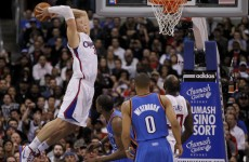 WATCH: Blake Griffin delivers an early dunk-of-the-year candidate