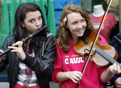 Music at the Fleadh which was held in Co Cavan last year