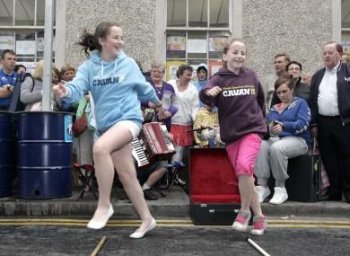 Dancing at the Fleadh which was held in Co Cavan last year