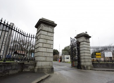 The gates of St Brendan's Hospital in Grangegorman, Dublin