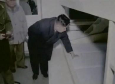 Kim Jong-un gives a mattress his approval