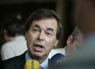 Justice Minister Alan Shatter