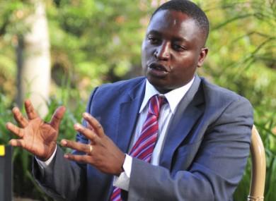 File photo of Ugandan parliamentarian David Bahati.