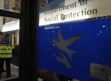 The Department of Social Protection in Dublin