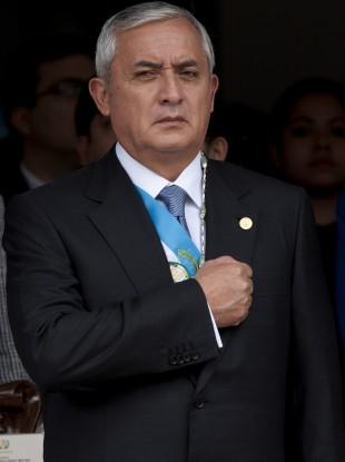 Guatemalan President Otto Perez Molina