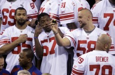Super Bowl XLVI: Introducing… The New York Football Giants