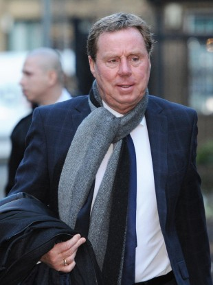 Harry Redknapp arrives at Southwark Crown Court  this morning.