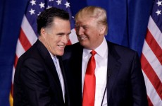 Donald Trump endorses Romney's bid for Republican nod