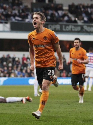 Doyle after scoring the winner on Saturday.