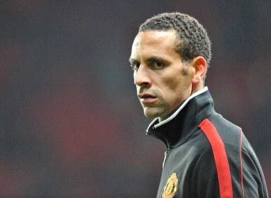 Ferdinand has rejected speculation that a rift exists between John Terry and him.