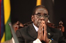 """Mugabe says he is """"fit as a fiddle"""" and compares himself to Jesus"""
