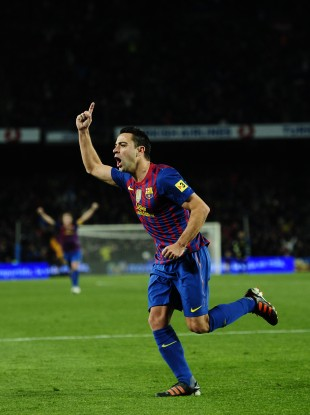 Barcelona midfielder Xavi will come back into the side tonight.