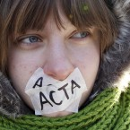 ACTA aims to harmonise international standards on protecting the copyright for music, movies, pharmaceuticals, fashion, and a range of other products that often fall victim to piracy and intellectual property theft. (AP Photo/Mindaugas Kulbis/PA Images)