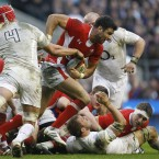 When Wales went down to 14 men in the second half, they needed a man to shape the game. Rhys Priestland was in the bin and Jamie Roberts had hobbled in the same direction. Phillips slowed the game to a crawl and Wales sucked up the time with an exorbitant amount of phases.<span class=