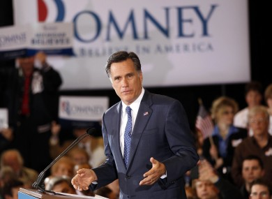 Mitt Romney addresses supporters in Michigan after a narrow - but reaffirming - win in the Michigan primary.