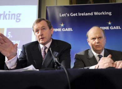Enda Kenny and Michael Noonan are among eight members of the Cabinet who claim unvouched TDs' expenses.